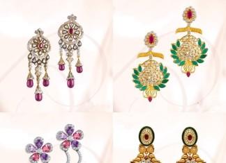 Stylish Diamond Earrings from GRT Jewellers
