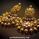Latest Model Gold Antique Earrings
