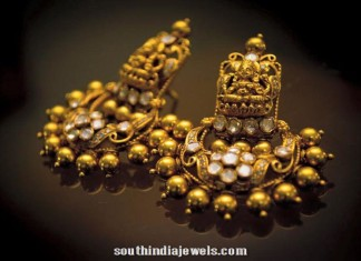 Gold Antique earrings latest model