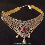 Diamond Choker Necklace For Weddings