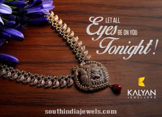 Ruby Uncut diamond necklace from Kalyan Jewellers