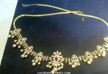 1 gram gold hip chain design