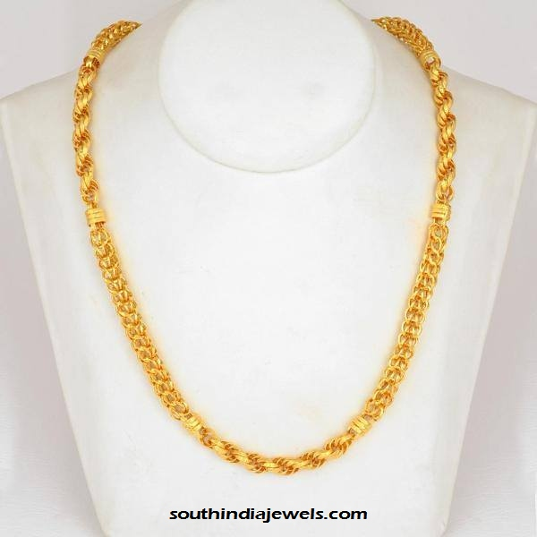 chains pin jewellery design gold south indian elephant necklace pinterest