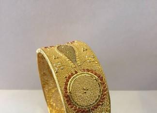 50 Grams Gold Kada Bangle