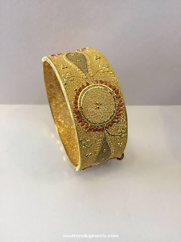 50 Grams Gold Kada Bangle
