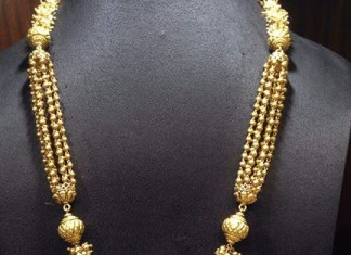 60 Grams gold long necklace