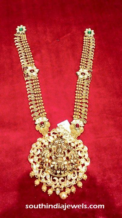 Antique Lakshmi Long Necklace