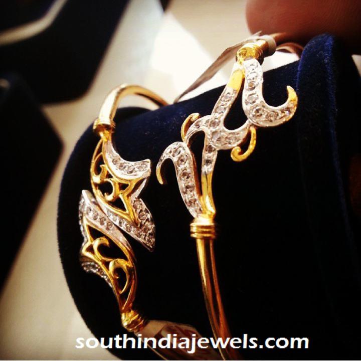 Designer Gold Bangles