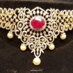 Diamond Jewellery Choker Necklace