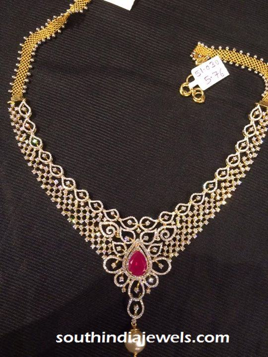 Diamond Jewellery Necklace from Premraj