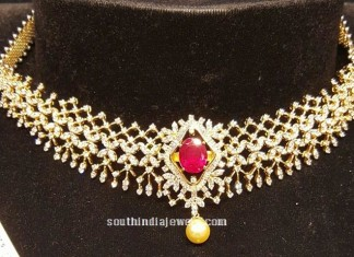 Latest Design Diamond Necklace from BJ