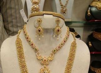 Gold Bridal Jewellery Set