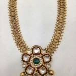 Gold Antique Kundan Kasumalai