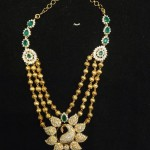 Multilayer Gold Ball Necklace