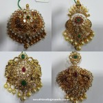 Gold Antique Stone Pendants