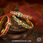 Gold Bangles Design from NAC Jewellers