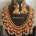 Gold Plated Guttapusalau Necklace