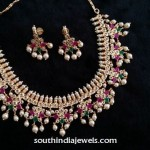 Imitation Guttapusalu Pearl Necklace