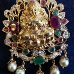 Lakshmi Stone Pendant Design