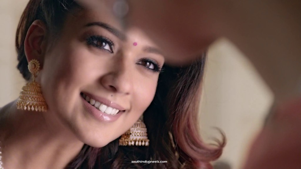 Nayanthara GRT jewellers ad in diamond Jhumka