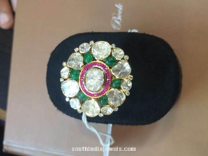 Polki ring designs