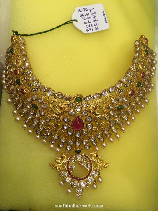 116 grams gold pachi necklace