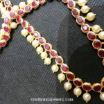 19 Grams Ruby Pearl Necklace