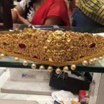 220 Grams Gold Lakshmi Ottiyanam