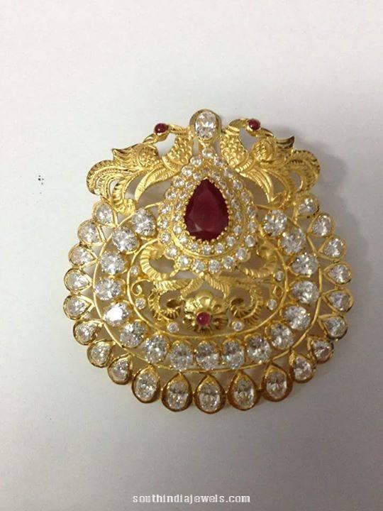 22k gold locket design