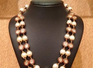 22k gold pearl mala necklace from NAJ