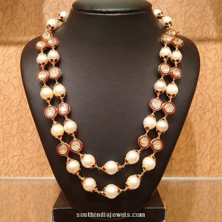 22k gold pearl mala necklace from NAJ