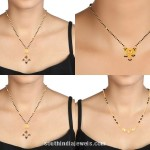 22K Gold Mangalsutra Chain Designs from Tanishq