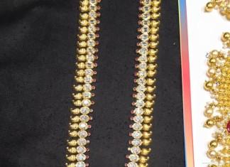 55 gram cz stone gold long haram