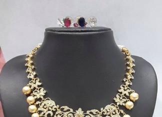 CZ Changable Stone Necklace
