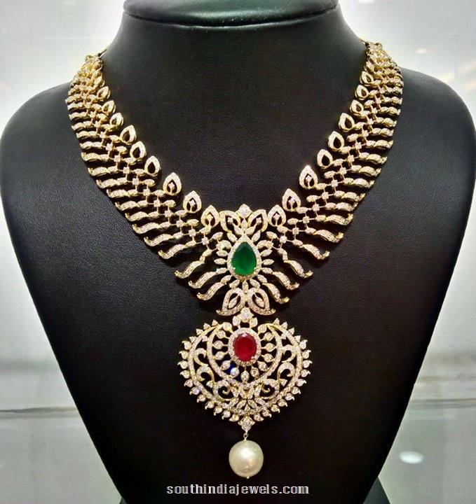 Diamond Jewellery Necklace model from NAJ