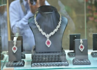 Floral Diamond set PC Jewellers