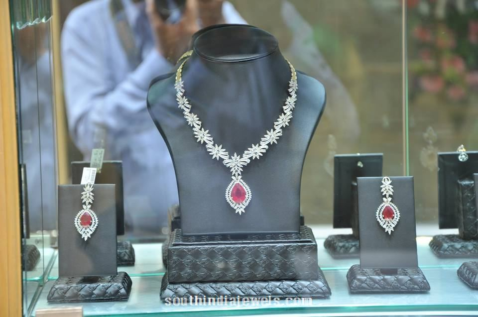 Floral Diamond set PC Jewellers