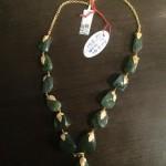 Gold Emerald Mala Design