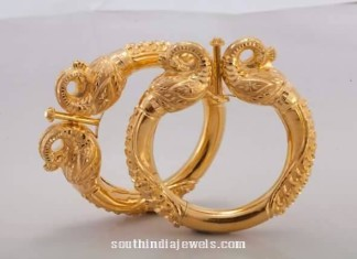 Gold Bangle Design from Harsha Jewellers