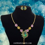 Gold Short Necklace Set from Jewel One