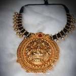 Gold Plated Temple Jewellery Necklace