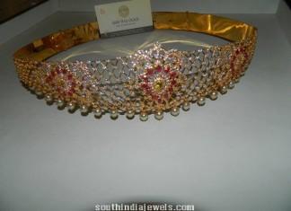 Gold stone Vaddanam aka ottiyanam
