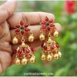 Antique Kemp Jhumka Design