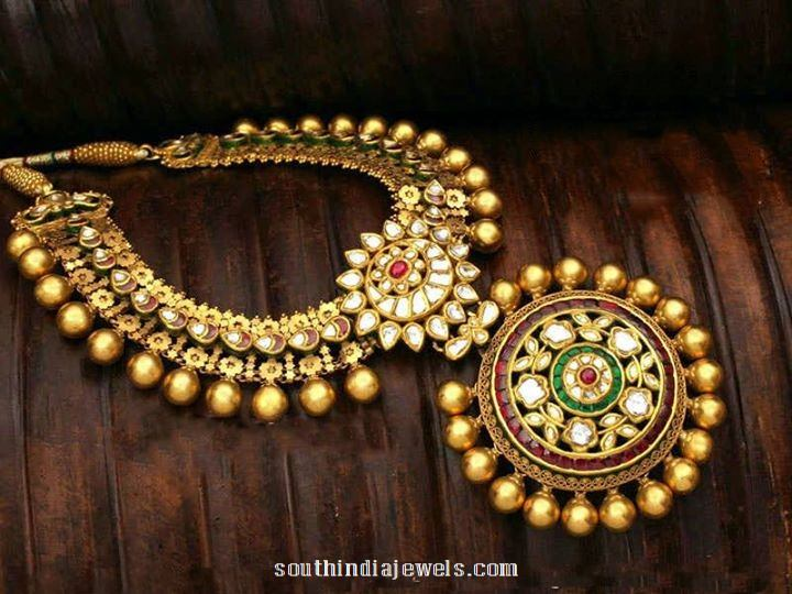 Imitation Fashion Jewellery antique necklace