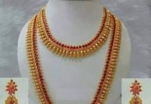 Imitation Bridal Necklace Set