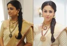 Jyothika in Saravana thanga nagai maligai elite antique jewellery designs