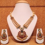 Light Weight Gold Kundan Necklace Set