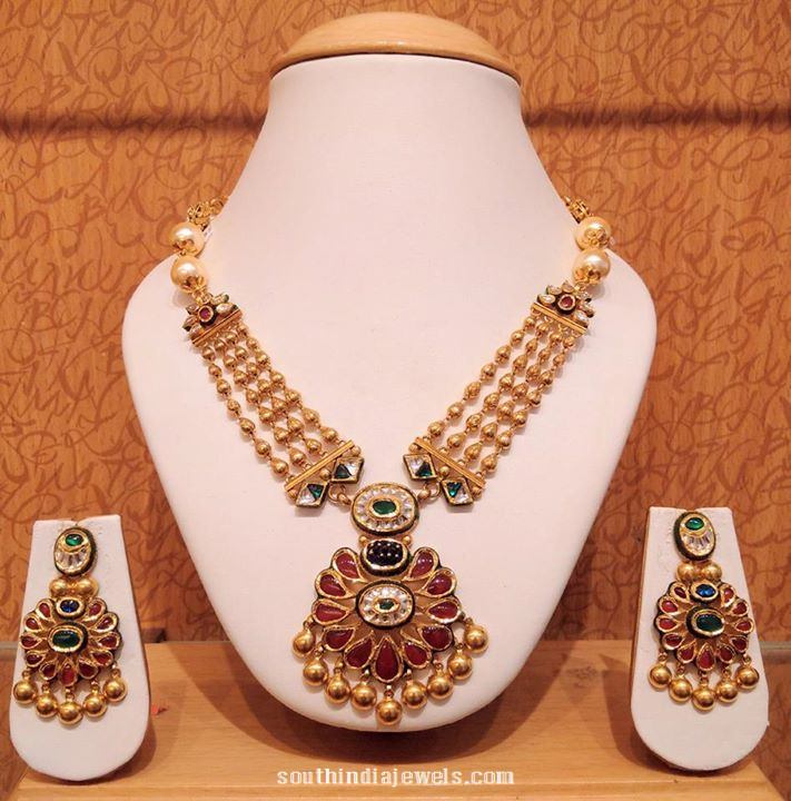 weighted short jewels light grt india gold south necklace from jewellers weight