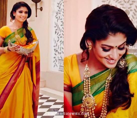 Nayanthara-gold-necklace-designs-from-GRT-jewellers