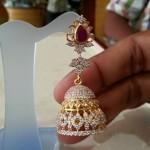 Gold Jhumka Model